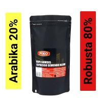 Biji kopi espresso A2R8 semendo blend 250gr kopi Piko