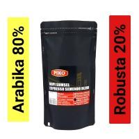 Biji kopi espresso A8R2 semendo blend 250gr kopi Piko