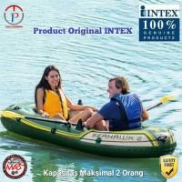 BOAT INTEX TYPE SEAHAWK 2 / INFLATABLE BOAT / PERAHU KARET / BOAT