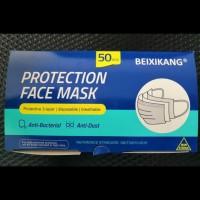 Masker kesehatan 3 ply isi 50 pcs / 3ply earloop , ADA BOX