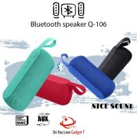SPEAKER BLUETOOTH Q106 BLUETOOTH WIRELESS FLASH DISC MICRO SD