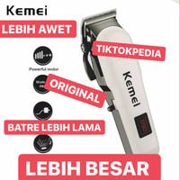 Hair Clipper Kemei KM-809A Alat Mesin Cukur Rambut 809a