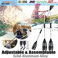 2Pcs Dayung Aluminium Kayak Paddle / Boat Oars Dayung Perahu Kano