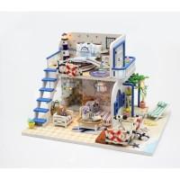 Miniatur Rumah Boneka / Diorama / Puzzle / Agar anak tdk gadget terus