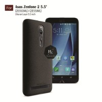 Darknight Asus Zenfone 2 5.5 ZE550ML ZE551ML Slim Case Black MattE