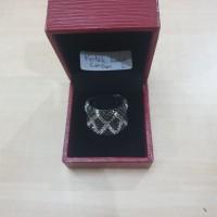 kotak cincin merah tua kulit 2