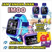 Jam Tangan Anak Smart Watch / Jam Imo Q12 Bisa Berenang Anti Air /Aimo
