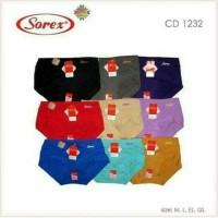 CELANA DALAM SOREX 1232 KATUN LEMBUT CD SOREX TERLARIS