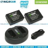 Wasabi Power PAKET 2 Battery + Charger for LP-E17 (M3 M5 M6 750D 760D