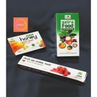 PROMO PAKET 3 / EXTRA FOOD HPAI / SABUN MANDI MADU / PASTA GIGI ANAK
