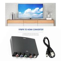 Konverter YPbPr to HDMI AV HDCP YPbPr / RGB + R / L Audio ke HDMI