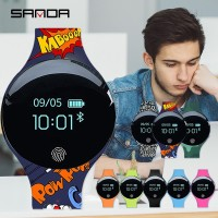 Sanda Smartwatch Bluetooth untuk Pria / Wanita