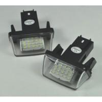 Promo!!! Aksesoris Mobil: Lampu LED Nomor Plat untuk Peugeot 206