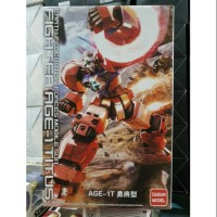 New !! MG Gundam Fighter Age 1 Titus Earth Federation Force Mobile Sui
