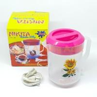 Nikita 899 1.5L 1.5 Ltr Teko Listrik Plastik Pemanas Air Electric Mug