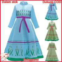 Kostum Cosplay Dress Pesta Ulang Tahun Anak Perempuan