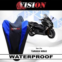Sarung Motor NMAX / Cover Penutup Motor Warna waterproof Merk VISION - Merah