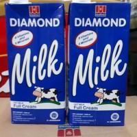 DIAMOND Susu UHT Full Cream 1 Karton (12 x 1L) [TERMURAH JAKARTA]