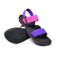 Terbaru Carvil Sandal Wanita Tulip-01 Gl - Fushia Purple