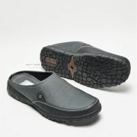 Sepatu Sandal Pria Cruz Denim Slip On Ori Sendal Slop Bustong BP907