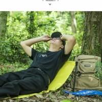 Folding chair matras duduk sandar camping outdoor sepeda motor rafting