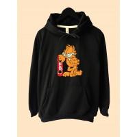Jaket Hoodie Premium Garfield Supreme Kartun