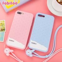 IPHONE 8 PLUS Fabitoo Original Soft Case Armor Silicone Cover Silikon