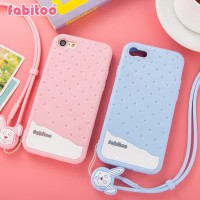 IPHONE 8 Fabitoo Original Soft Case Armor Silicone Cover Silikon cute