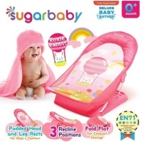 Sugar Baby [Deluxe] Baby Bather / Kursi Mandi Bayi (Pink)