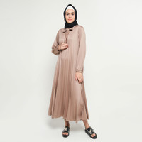 Long Dress Gamis maxi Wanita Muslim Flisket - Jfashion Inayah