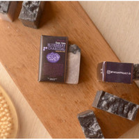 Blueberry Charcoal Natural Bar Soap