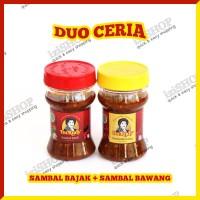 Paket Duo Ceria - SAMBAL BAJAK & SAMBAL BAWANG Khas Bu Rudy