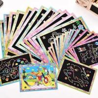 Mainan Jadul - Mainan Anak Scratch Book / Mainan Anak Gosok Buku