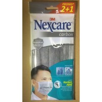 Masker 3M Nexcare Carbon isi 3