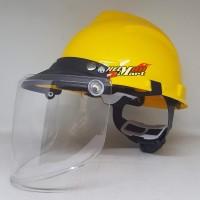 Helm APD Face Shield Pelindung Wajah Helm Proyek APD Safety Helmet