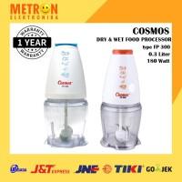 Cosmos FP-300 - Food Processor/Blender 300 ml (Blue/Orange)