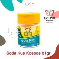 Soda Kue Koepoe Koepoe 81gr / Baking Soda Koepoe / Baking Soda Kupu