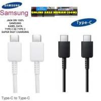 JA04 samsung 100% ori kabel data 3A usb tipe c super fast charger univ
