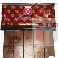 coklat batangan/ dark chocolate compound tulip master baker 500gr