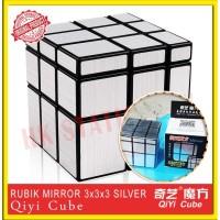 Rubik 3x3x3 MIRROR SILVER QIYI MAGIC CUBE