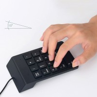 ANENG Numeric Keypad Numpad LED Backlight USB - K24