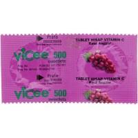 Vicee Rasa Anggur Vitamin C (harga/strip)