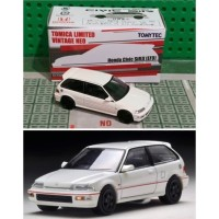 Tomica limited vintage honda civic ef putih hk edition SALEEE