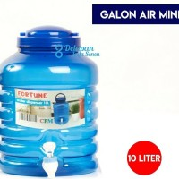 Galon Aqua Keran 10L/ Galon Air Minum Keran/ Galon Dispenser