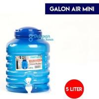 Galon Aqua Keran 5L/ Galon Air Minum Keran/ Galon Dispenser