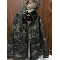 Jaket Hollister All Weather Sherpa Lined Parka Camo Original Size XL