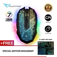 Alcatroz Mouse Gaming X-craft Pro Tron 5000