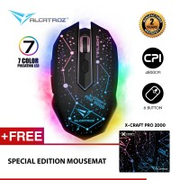 Alcatroz X-Craft Pro Twilight 2000 Gaming Mouse Free Mousemate