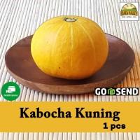 Sayur organik premium - Labu / Kabocha Kuning per pcs