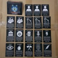 Werewolf Mafia Card Game - Premium Basic Pack